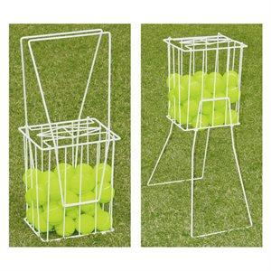 Panier de ramassage de balles de tennis