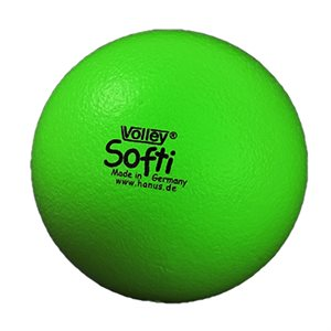 Ballon Volley® Softi en mousse, vert