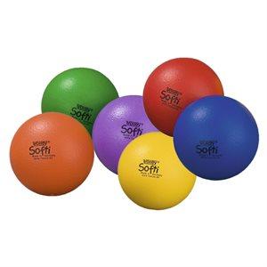 6 ballons Volley® Softi en mousse