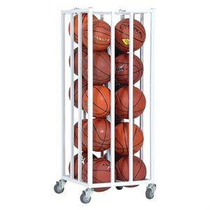 Chariot à ballons vertical, cap.20 ballons