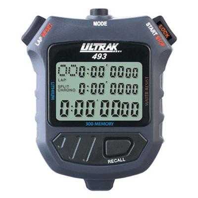 Chronomètre, mémoire de 300 tours