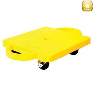 Planche à roulettes avec poignées, roues à billes