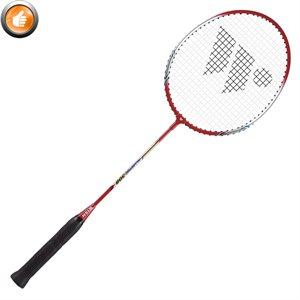 Raquette de badminton en aluminium, tige en acier