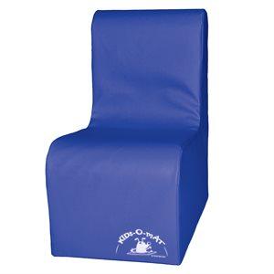 Sofa en mousse 1 place pour enfants, bleu