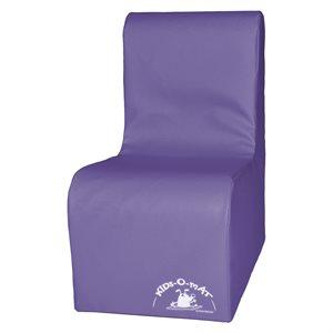 Sofa en mousse 1 place pour enfants, mauve