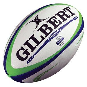 Ballon de rugby Barbarian en caoutchouc