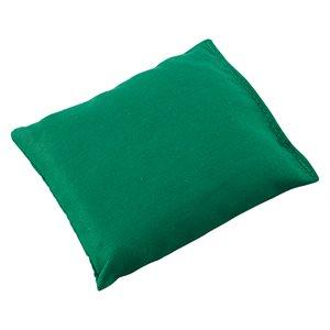 Sac de fèves 4''x5'', vert