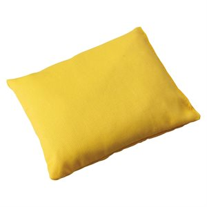 Sac de fèves 4''x5'' , jaune