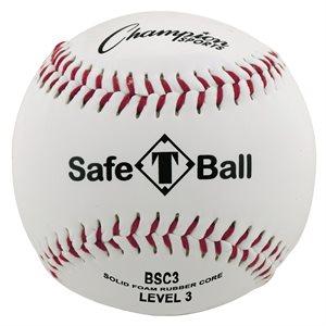 12 balles de baseball, cuir synthétique