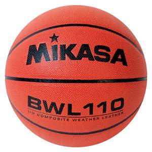 Ballon de basketball Mikasa en cuir composite