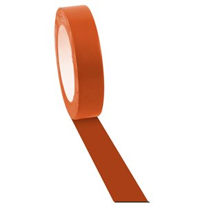 Ruban adhésif à plancher orange