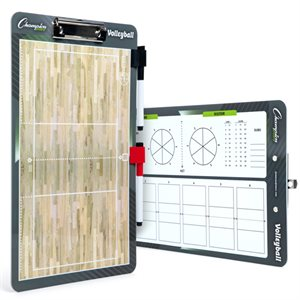 Coaches clipboard, volleyball