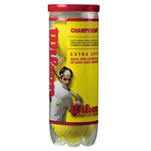 3 balles de tennis Wilson Championship
