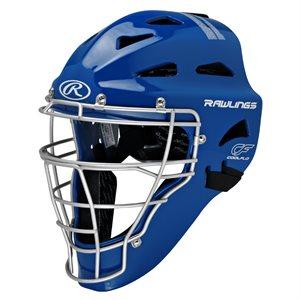 Casque / masque de receveur baseball SR, bleu royal