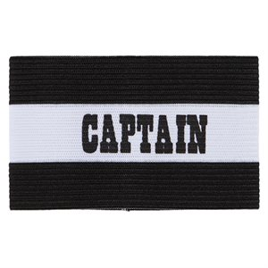 Brassard de capitaine jeune, noir