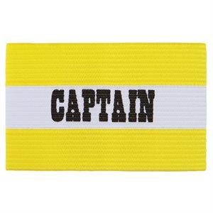 Brassard de capitaine jeune, jaune