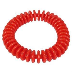 """Anneau flexible en vinyle, 6"""", rouge"""