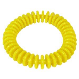 """Anneau flexible en vinyle, 6"""", jaune"""