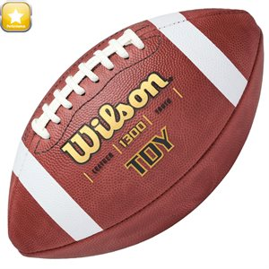 Ballon de football Wilson en cuir
