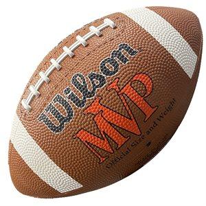 Ballon de football de caoutchouc Wilson MVP, #9