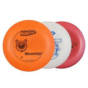 3 disques pour disc-golf