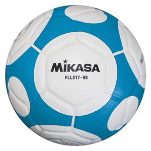 Ballon soccer intérieur Mikasa, #2, BLEU / BLANC