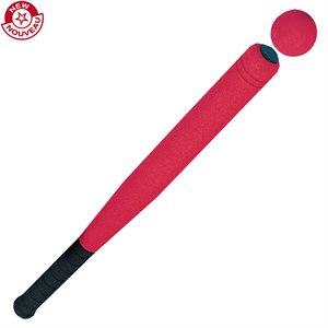 Bâton et balle de baseball en mousse