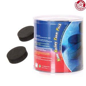 Ens. de 30 rondelles de mousse pour mini-hockey