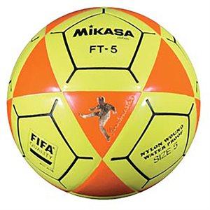 Ballon officiel de footvolley, #5, orange / jaune