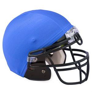 Set of 12 helmet covers, royal blue