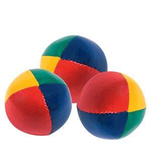 Ens. de 3 mini-balles de jonglerie