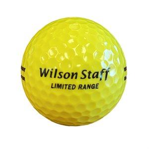 Balle de golf de pratique, jaune