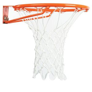 Filet de basketball en nylon, blanc