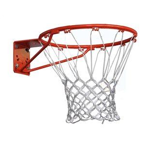 Panier de basketball, anneau simple, montage avant
