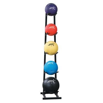 5 ballons médicinaux avec support