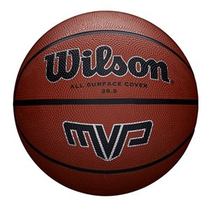 Ballon de basketball de caoutchouc MVP, #6