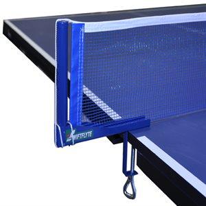 """Poteaux et filet de tennis de table, 68"""""""