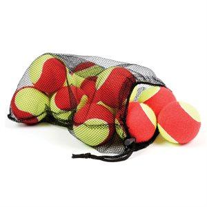 12 balles de mini-tennis surdimensionnées