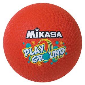 Gros ballon Mikasa pour cour de récréation, rouge