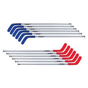 """Ens. de 12 bâtons de hockey DOM PRO, 52"""""""