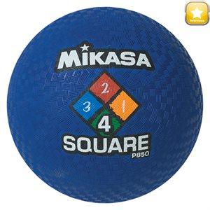 Ballon de jeu Four Square, bleu