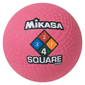 Ballon de jeu Four Square, rose
