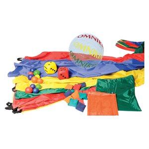 Ensemble de jeu de parachute
