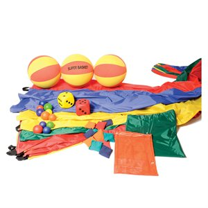 Ens. de jeu de parachute