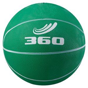 Ballon de mini-basket en caoutchouc, vert