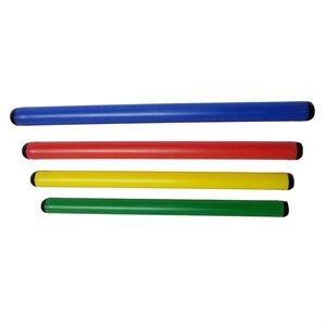 4 tiges rondes de jeu de 70 cm