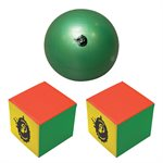 Ens. de mini Poull-Ball, cubes en mousse