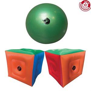 Ens. de mini Poull Ball avec cubes gonflables