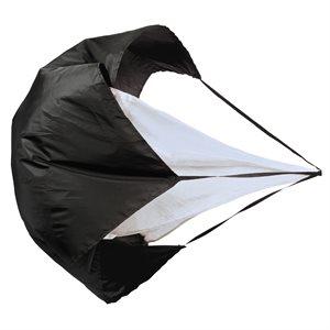 Parachute de vitesse, 4'