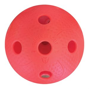 Balle floorball PRECISION Pro, rouge
